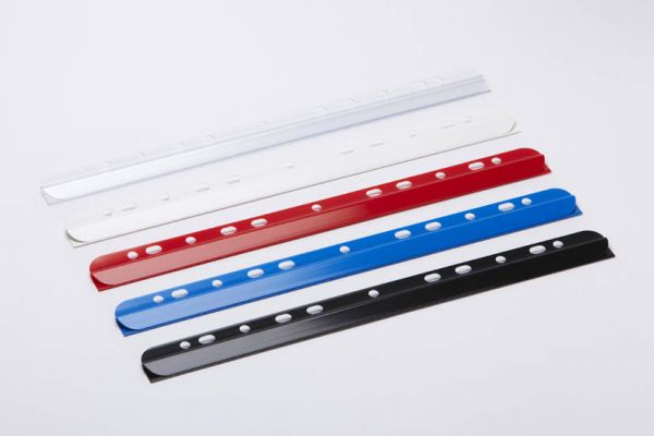 Spine with filing strip and Euro perforation up to 30 sheets (80g./m²) / holds up to: - 4 mm